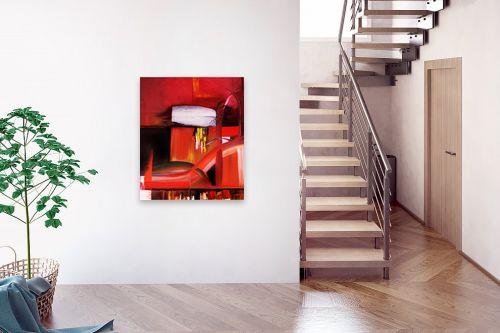 תמונה לבית - Red סטודיו - abstruct - מק''ט: 129759