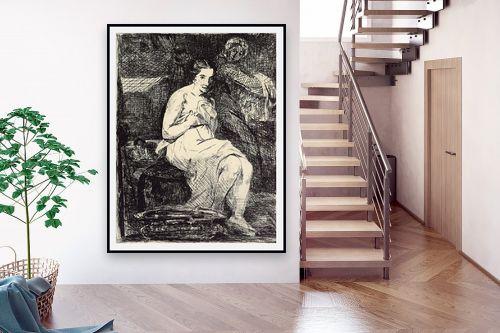 תמונה לבית - אדואר מנה - Édouard Manet 059 - מק''ט: 131705