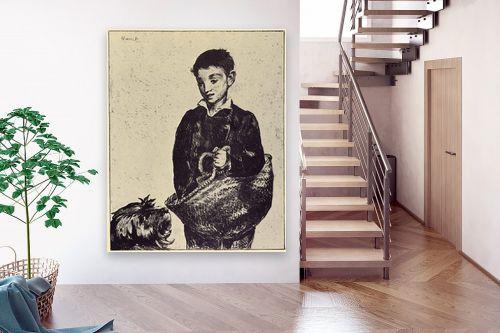 תמונה לבית - אדואר מנה - Édouard Manet 060 - מק''ט: 131707