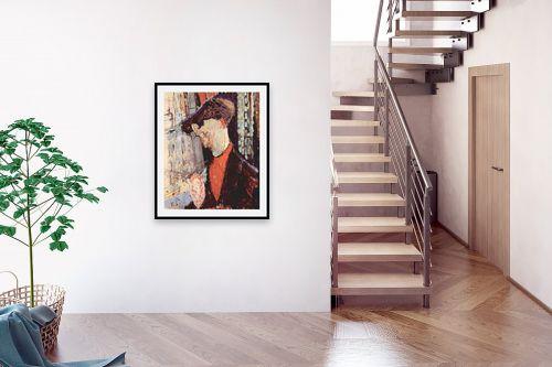 תמונה לבית - אמדאו מודיליאני - Amedeo Modiglian 006 - מק''ט: 131715