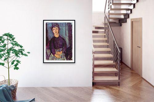 תמונה לבית - אמדאו מודיליאני - Amedeo Modiglian 010 - מק''ט: 131719