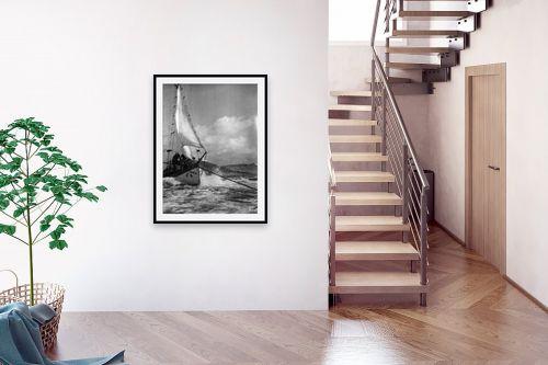 תמונה לבית - דוד לסלו סקלי - תל אביב 1939 זאב הים - מק''ט: 143212