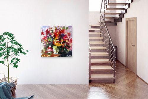 תמונה לבית - בן רוטמן - ציורי פרחים - והרבה - מק''ט: 144910