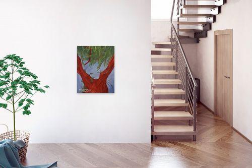 תמונה לבית - עדי גולדברג - בעקבות המלחמה עץ-ניצנים1 - מק''ט: 14861