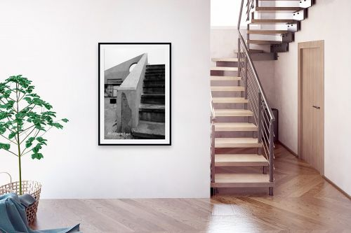 תמונה לבית - ניר אלון - מדרגות וחצי עיגול - מק''ט: 1533