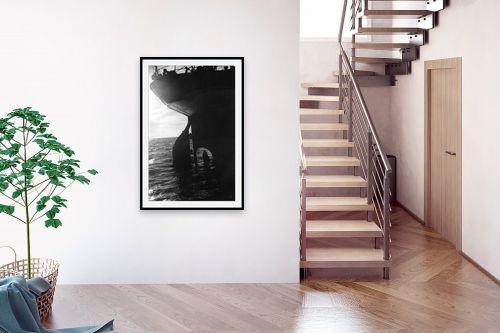 תמונה לבית - דוד לסלו סקלי - תל אביב 1937 הגה של אוניה - מק''ט: 153318