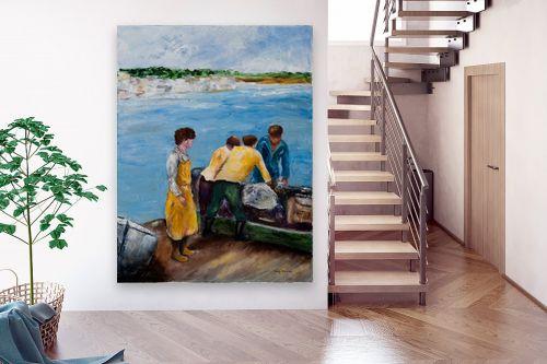 תמונה לבית - שולי חיימזון - דייגים - מק''ט: 158338