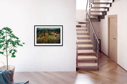 תמונה לבית - רוחלה פליישר - נוף כפרי - מק''ט: 162262
