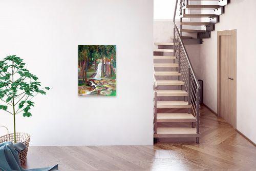 תמונה לבית - רינה יניב - מפל המים - מק''ט: 163883