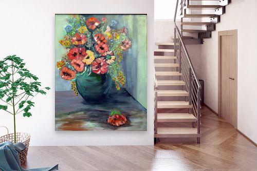 תמונה לבית - רינה יניב - סידור פרחים - מק''ט: 169768
