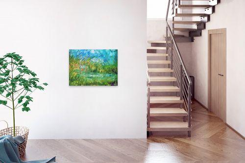 תמונה לבית - בן רוטמן - ירוק ועוד ירוק,,, - מק''ט: 170895