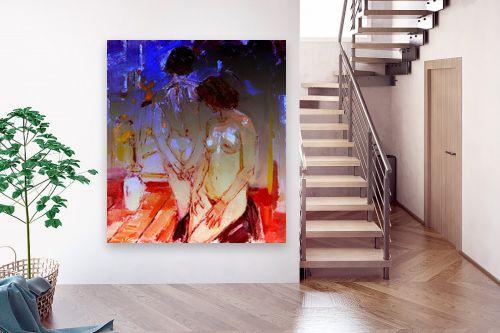 תמונה לבית - בן רוטמן - 2 נשים - מק''ט: 172964