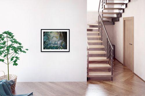 תמונה לבית - אילה ארויו - חבצלות  במים - מק''ט: 184205