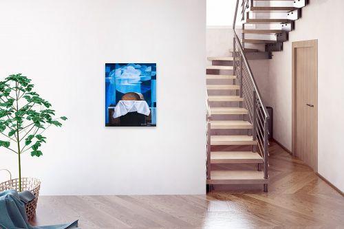 תמונה לבית - חנה כרמי - לחם על רקע חלונות - מק''ט: 197249
