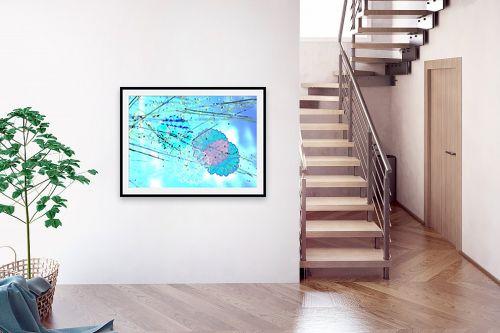 תמונה לבית - רוזה לשצ'ינסקי - פרח תכלת - מק''ט: 203788