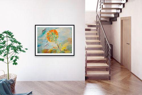 תמונה לבית - חנה כרמי - עץ דקל - מק''ט: 208213