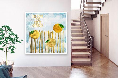 תמונה לבית - רוזה לשצ'ינסקי - אהבה לשלושה תפוזים - מק''ט: 208296