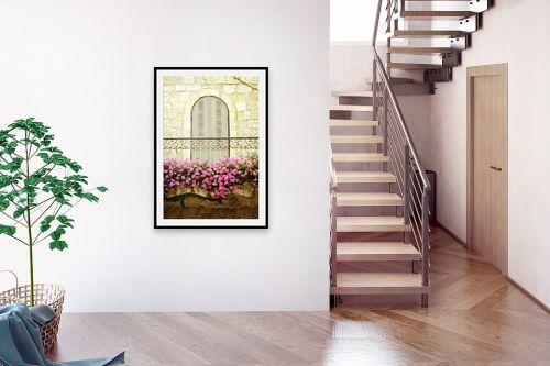 תמונה לבית - ויויאן נתן - מרפסת פרחונית - מק''ט: 226676