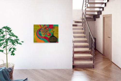 תמונה לבית - בתיה שגיא - RETRO ART - מק''ט: 239444