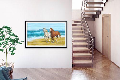 תמונה לבית - נריה ספיר - דהרה על החוף - מק''ט: 259591