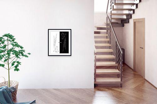 תמונה לבית - גורדון - שחור לבן - מק''ט: 277025