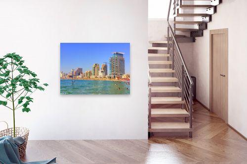תמונה לבית - מתן הירש - חוף הים בתל אביב - מק''ט: 290102