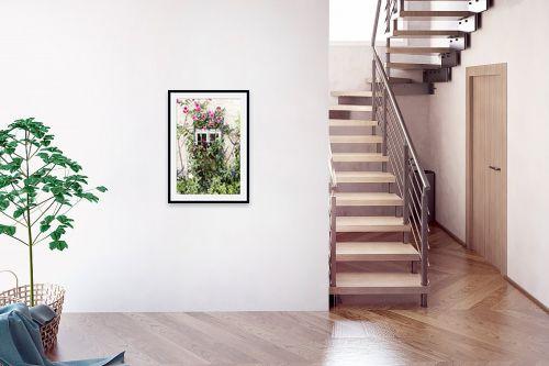 תמונה לבית - ויויאן נתן - חלון עם פרחים #2 - מק''ט: 292975