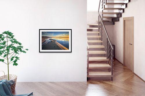 תמונה לבית - מיכאל שמידט - שעת הזהב בכנרת - מק''ט: 293598