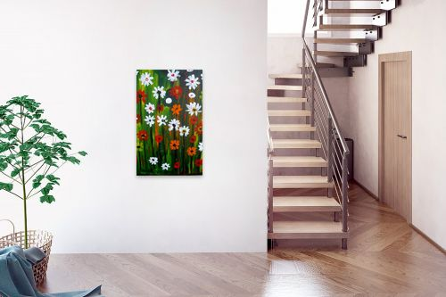תמונה לבית - ורד אופיר - פרחי אביב - מק''ט: 301691