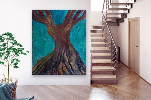 תמונה לבית - אסתר חן-ברזילי - עץ מרקד - מק''ט: 306208