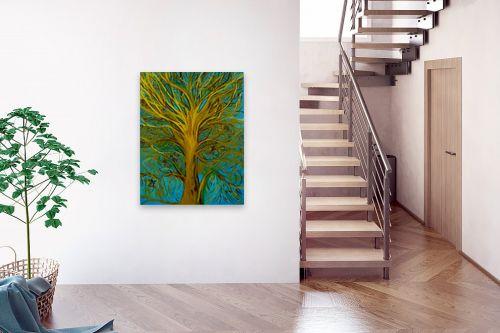 תמונה לבית - אסתר חן-ברזילי - עץ השמש - מק''ט: 306212