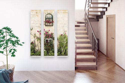 תמונה לבית - ויויאן נתן - חלון עם ורדים - מק''ט: 309890