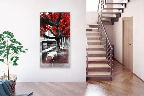 תמונה לבית - ציפי ניומן - סתיו באדום - מק''ט: 311015