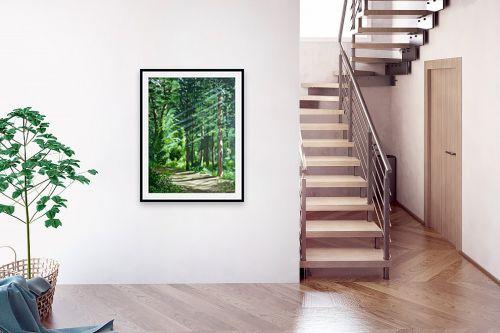 תמונה לבית - נריה ספיר - בוקר ביער - מק''ט: 313492