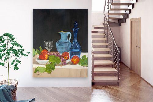 תמונה לבית - נריה ספיר - טבע דומם עם פירות - מק''ט: 313495