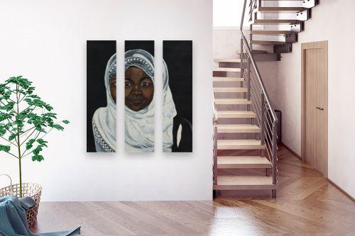 תמונה לבית - אסתר טל - דמות בשחור 2 - מק''ט: 316219