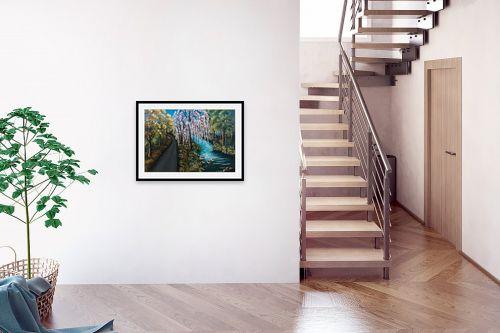תמונה לבית - מזל בוכריס - והיה כעץ שתול על פלגי מים - מק''ט: 316340