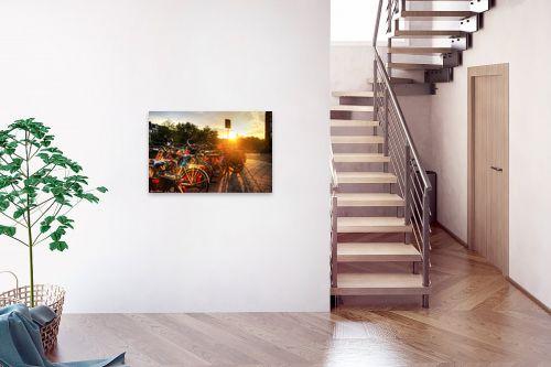 תמונה לבית - מתן הירש - שקיעה באמסטרדם - מק''ט: 317682