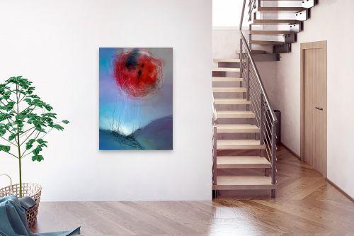 תמונה לבית - גורדון - ירח אדום - מק''ט: 319435