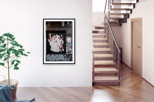 תמונה לבית - שי וייס - גרפיטי  oas - מק''ט: 324823