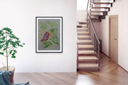 תמונה לבית - רינה יניב - אשכול ענבים - מק''ט: 327827