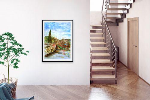 תמונה לבית - חיה וייט - מדרגות עין כרם ב׳ - מק''ט: 327892
