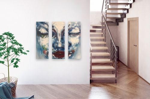 תמונה לבית - Artpicked - חולמת - מק''ט: 329737
