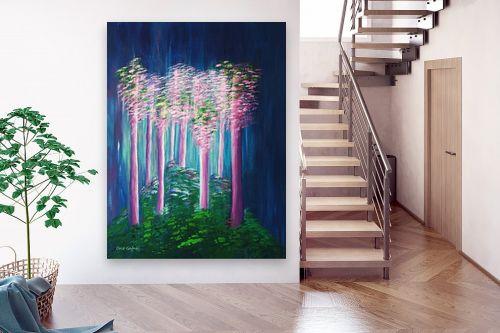תמונה לבית - אורית גפני - אור ביער - מק''ט: 330330