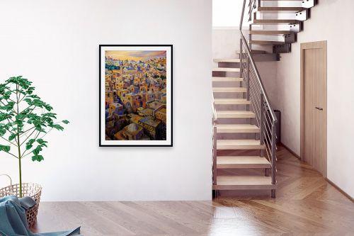 תמונה לבית - שמואל מושניק - חברון בין השמשות - מק''ט: 332070