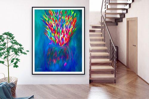 תמונה לבית - אורית גפני - מפץ צבעוני - מק''ט: 332424