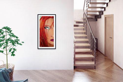 תמונה לבית - חנן אביסף - Red Face - מק''ט: 51782