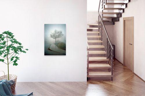 תמונה לבית - מיכל פרטיג - שקט ערפילי - מק''ט: 54601