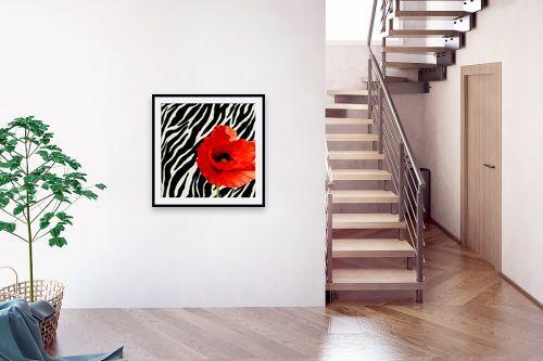 תמונה לבית - בתיה שגיא - אדום-שחור-לבן - מק''ט: 70616