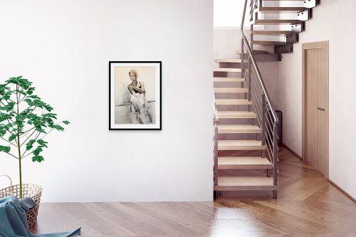 תמונה לבית - דוד סלע - רקדנית בסטודיו - מק''ט: 96674
